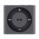 apple, ipod, mp3, multimedia, music, shuffle icon