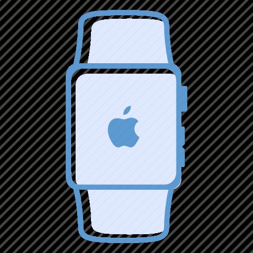 apple, apple watch, smartwatch, watch icon