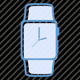 apple, apple watch, clock, smartwatch, watch icon