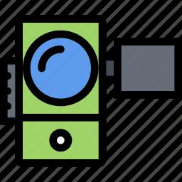 appliances, electronics, gadget, kitchen, technique, video camera icon