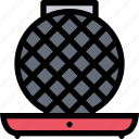 appliances, electronics, gadget, kitchen, technique, waffle iron icon