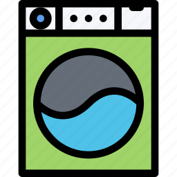 appliances, electronics, gadget, kitchen, technique, washing machine icon