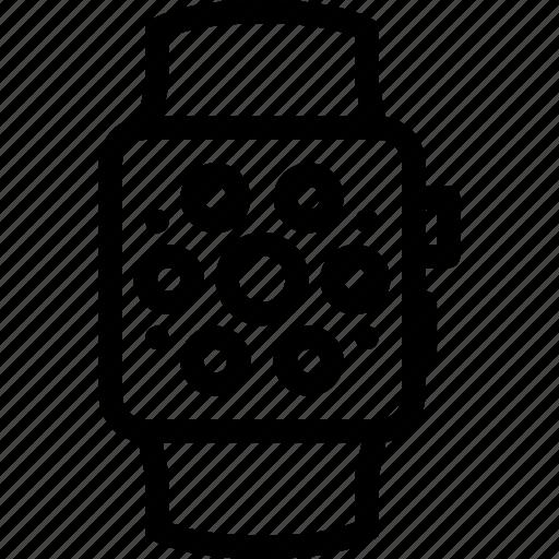 appliances, electronics, gadget, kitchen, smartwatch, technique icon