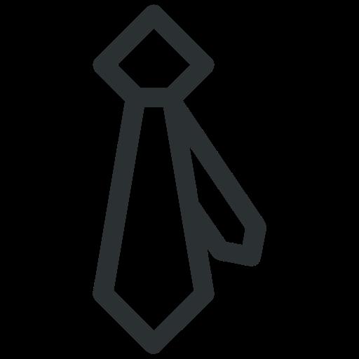 fashion, formal tie, necktie, tie, uniform tie icon icon