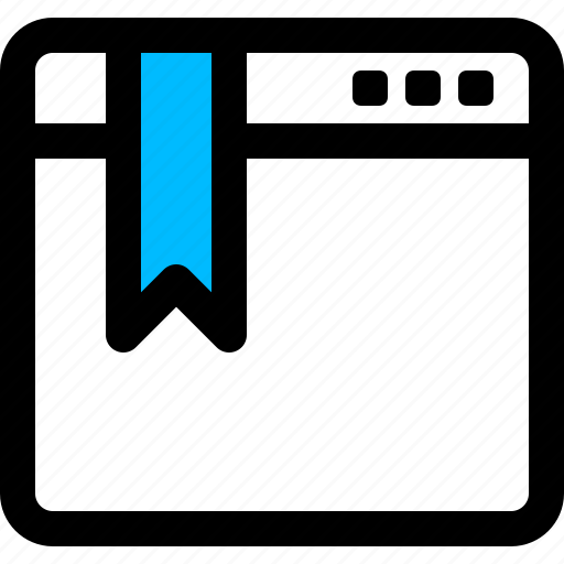 bookmark, website, window icon