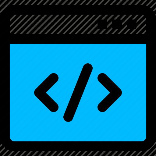 application, code, programming, source, window icon