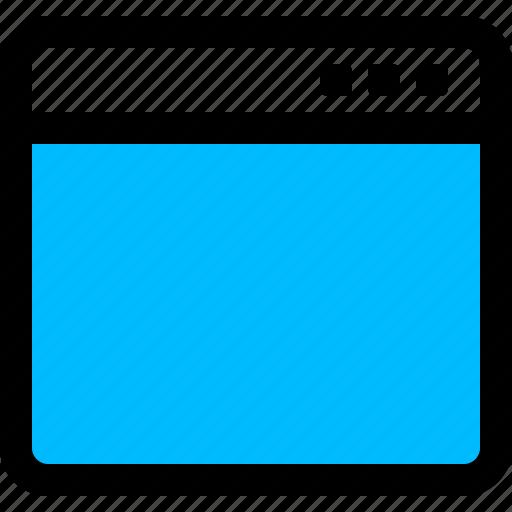 app, application, interface, window icon