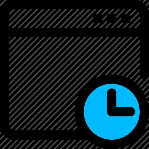 app loading, loading, process, progress, timer, window icon