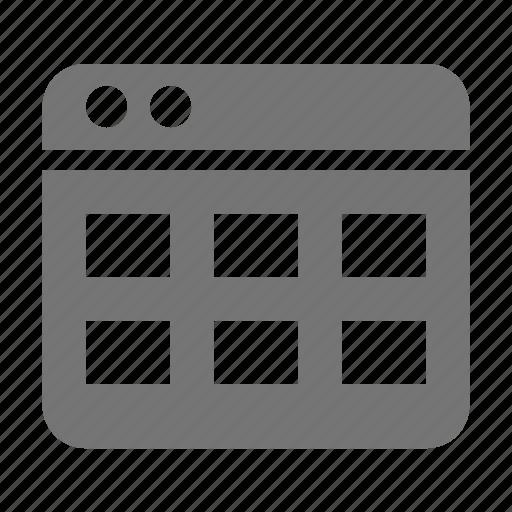 application, boxes, modules, window icon