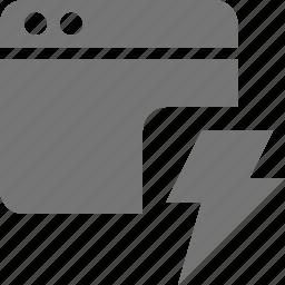 application, flash, lightning, window icon