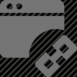 application, link, window icon