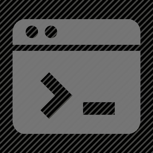 application, programming, window icon