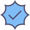 approved, check mark, complete, done, good, ok, true icon