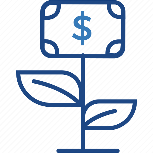 business, dollar, finance, grow, income, money icon