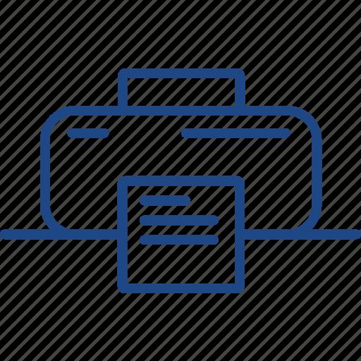 arrow, location, map, pointer, print, printer icon