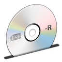 cd, disc, r icon