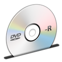 disc, dvd, r icon