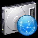 drive, file, server icon