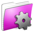 folder, smart, stripped icon