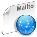file, internet, mailto, network icon