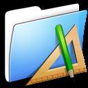 applications, aqua, folder, smooth icon