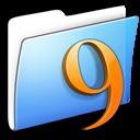 aqua, classic, folder, smooth icon