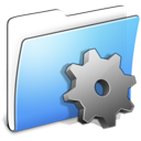 aqua, developer, folder, smooth icon