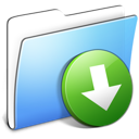 aqua, dropbox, folder, smooth icon