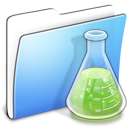 aqua, copy, experiments, folder, smooth icon