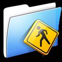 aqua, folder, public, smooth icon
