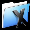 aqua, folder, smooth, system icon