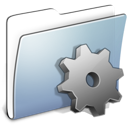 developer, folder, graphite, smooth icon