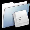 folder, fonts, graphite, smooth icon