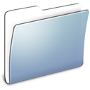 folder, generic, graphite, smooth icon