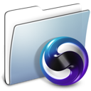 folder, graphite, smooth, themes icon