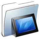 folder, graphite, smooth, wallpapers icon