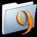classic, folder, graphite, stripped icon