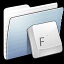 folder, fonts, graphite, stripped icon