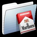 folder, graphite, marlboro, stripped icon
