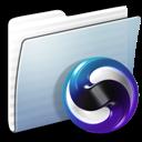 folder, graphite, stripped, themes icon