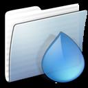 folder, graphite, stripped, torrents icon