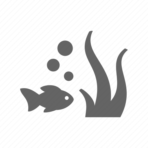 animal, fish, goldfish, pet, plant, underwater icon