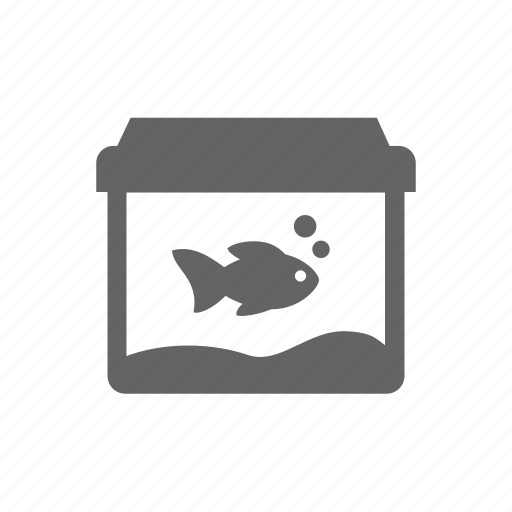 fishbowl, fishtank, goldfish, pet, tank icon