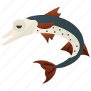 barracuda, fish, fishery, marine, ocean icon