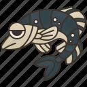 fish, fishing, freshwater, perch, wildlife