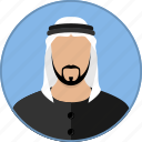 arab, arabic, avatar, islam, man, muslim, religion icon