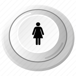 arcade, control, female, game, joystick, play, player icon