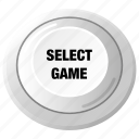 control, player, game, play, select, joystick, arcade