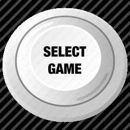 arcade, control, game, joystick, play, player, select icon