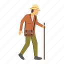 archeology, archeologist, man, avatar, person icon